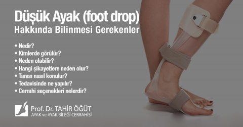düşük ayak (foot drop)