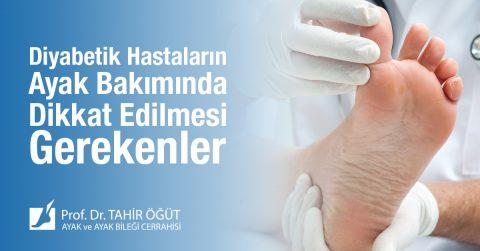 diyabetik ayak bakımı neler